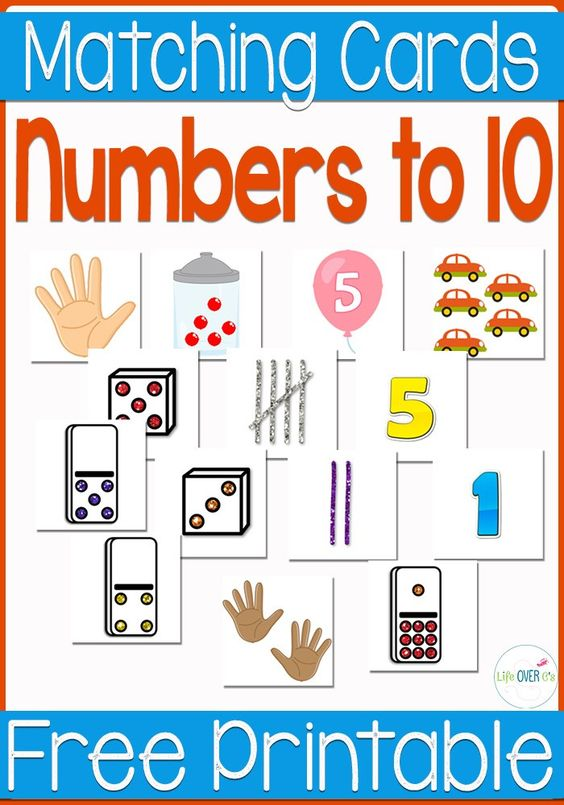 Free Number Recognition Printable | Free Printable Numbers ...