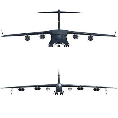 US Military Aircraft V1