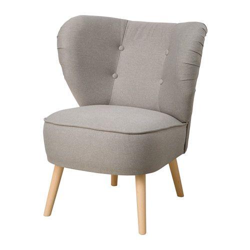 Sessel ikea  IKEA - GUBBO, Fotel, jasnoszary, , Kształt fotela zapewnia wygodne ...