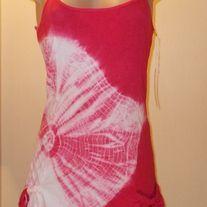 new item spaghetti straps,tie dye,100% cotton