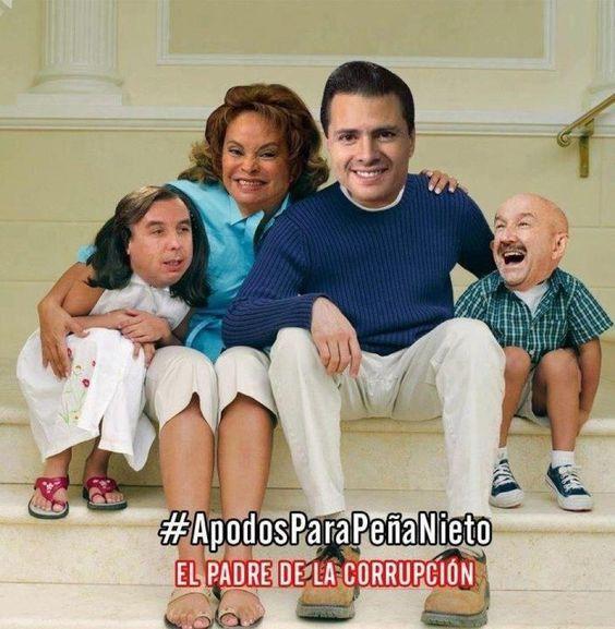 La verdadera familia de Peña Nieto