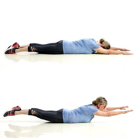 Pin on Core exercises for lower back