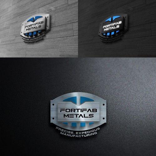 Fortifab Metal Inc Sheet Metal Company Seeking Sophisticated Powerful Attention Grabbing Industrial Logo Industry Logo Metal Company Logo Design Contest