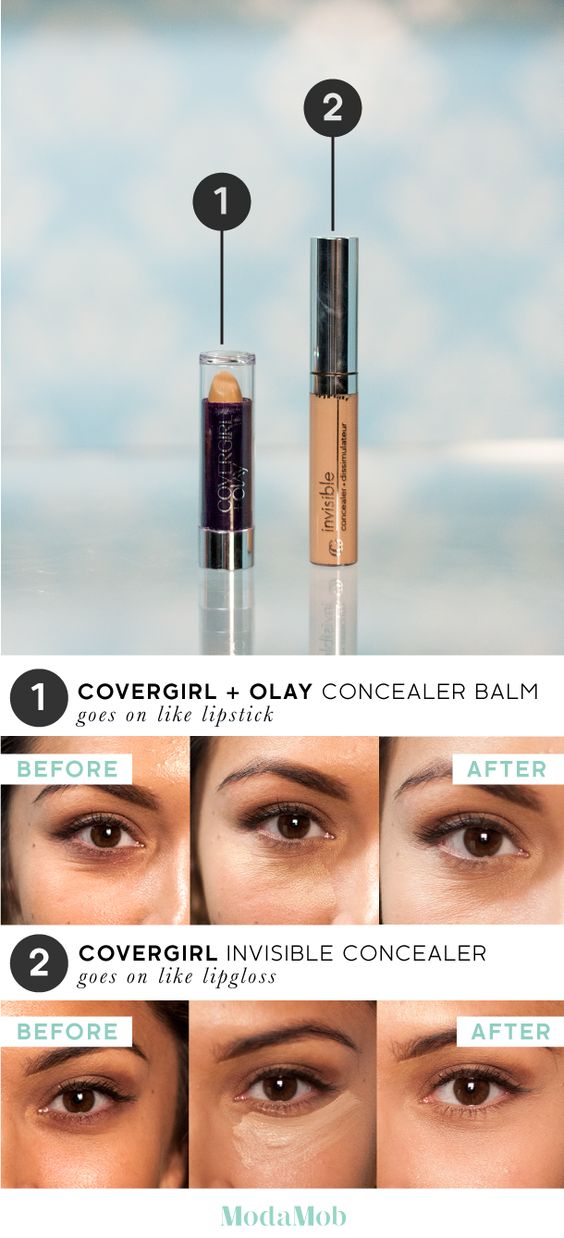 Are CoverGirl's Concealers Worth a Try? CoverGirls vs Olay
