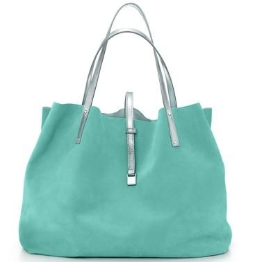 Tiffany blue leather bag...LOVE, LOVE, LOVE mine!!!