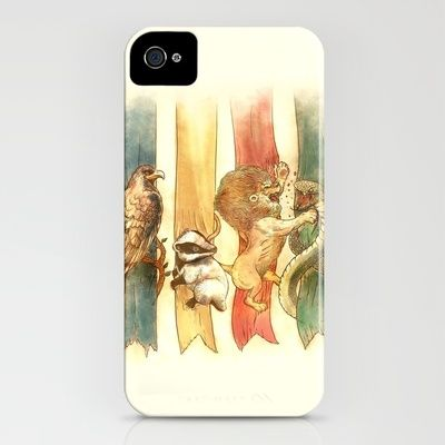 "I want this so bad! ""House Brawl iPhone Case by Alice X. Zhang - $35.00"""