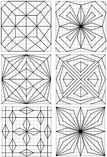 Remue Meninge Reproduction De Figures Geometriques 15 X 15 Dessin Quadrillage Dessin Carreau Dessin Quadrille