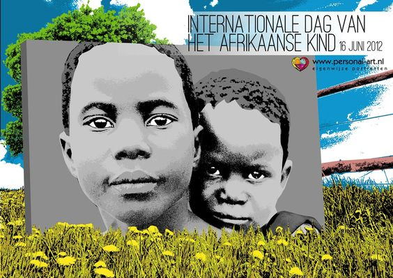 Het Afrikaanse Kind dag