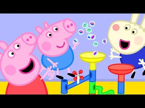 Peppa Pig Official Channel Peppa Pig S Fun Marble Run Games