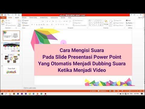 Tutorial Cara Membuat Video Pembelajaran Dengan Powerpoint Manfaatke Com Https Www Manfaatke Com Video Presentasi Belajar