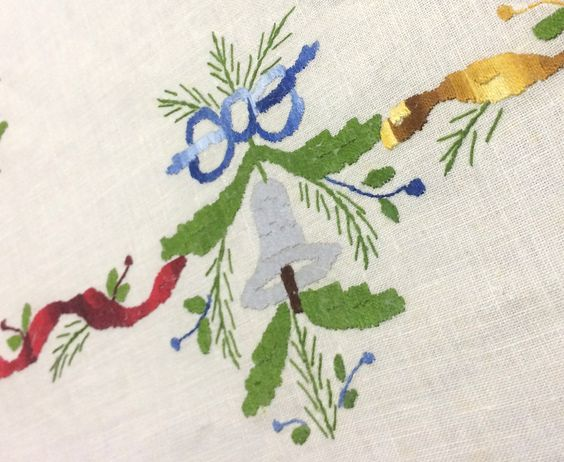 Navidad mantels and tes on pinterest - Comprar arboles de navidad decorados ...