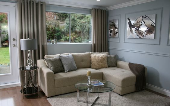 Love It or List It Vancouver - living rooms.  That last pic - sooo cozy!