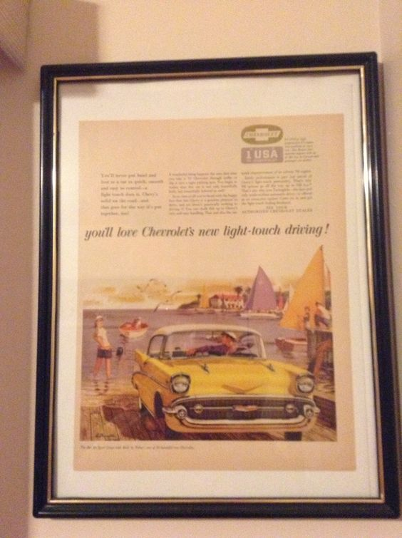 57 Chevy Magazine Ad