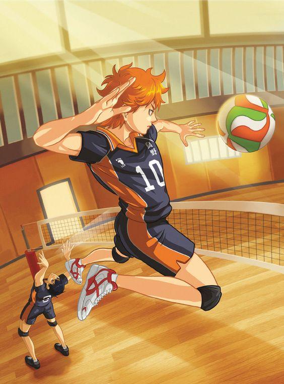 Este anime es genial! - Hinata y Kageyama, su primer ataque ;)