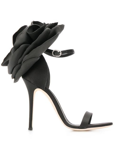 Peony sandals | Giuseppe zanotti, Funky shoes, Ankle strap