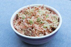 Zelfgemaakte coleslaw