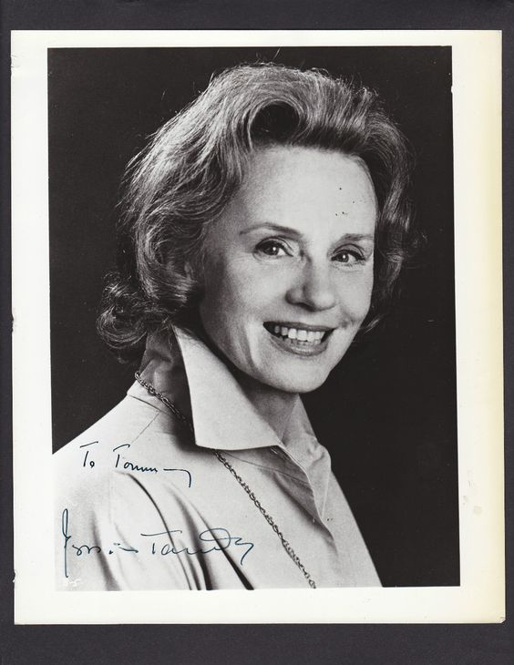 Jessica Tandy  I miss her. I actually cried when I heard she passed away.