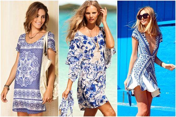 Moda baseada nos Azulejos Portugueses