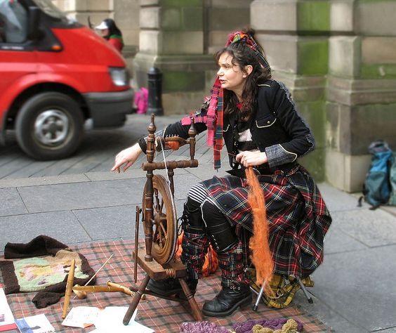 .Spinning in Edinburgh: