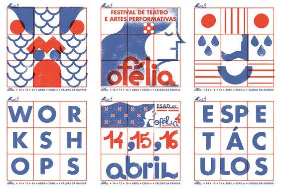 Cartaz Festival Ofélia de Lord Mantraste e José Torres