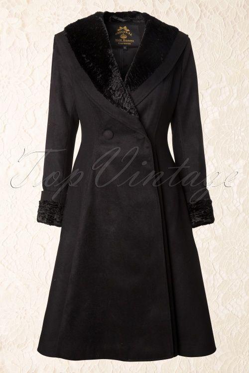 Bunny Vivien Coat Black 152 10 13450 1: