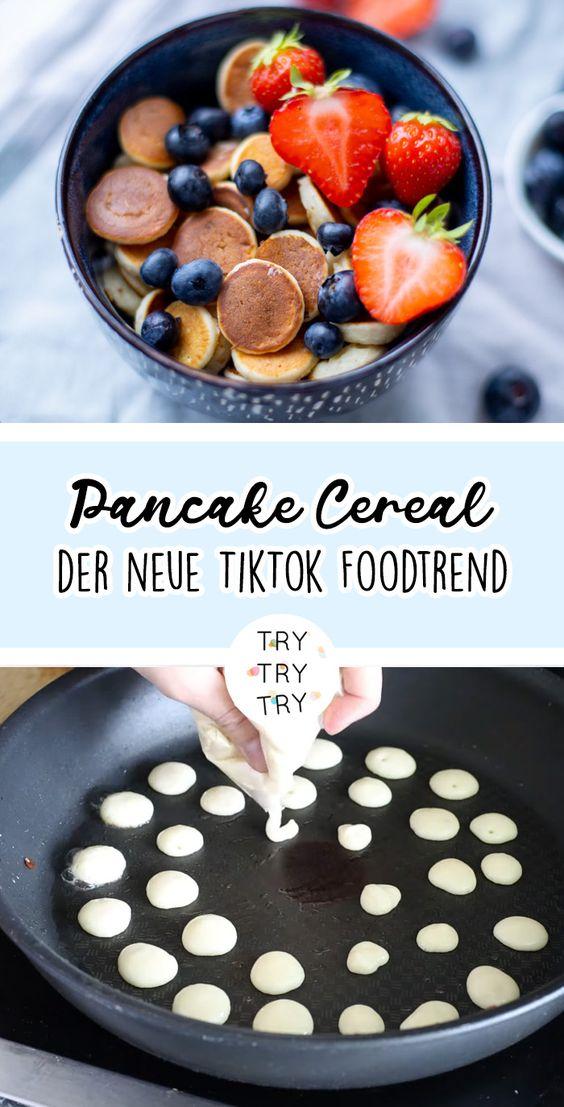 Pancake Cereal - der neue TikTok Foodtrend