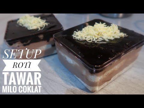 Setup Roti Coklat Milo Lumer Banget Coklatnya Youtube Rotis Oreo Desserts Ide Makanan