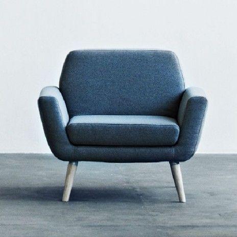 Scope un fauteuil épuré et très confortable parfait compagnon du canapé scope déco