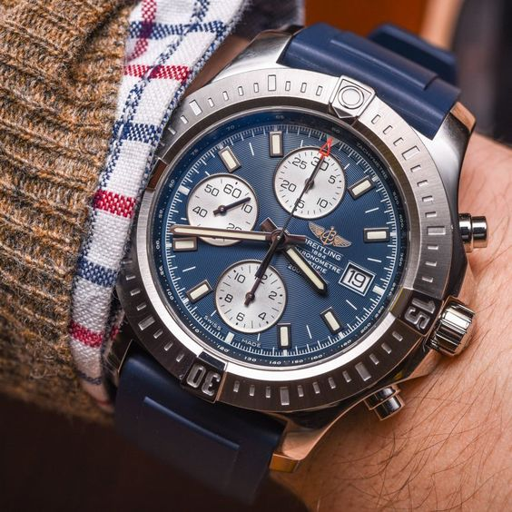 """Breitling Colt Chronograph Automatic Watch For 2015 Hands-On - by David Bredan - see the pictures & read about the watch that has finally converted David to Breitling on aBlogtoWatch.com """"Breitling is a tough one for me. I have for long appreciated the engineering that goes into their watches and the overall quality all that results in – I have, however, just never fallen in that deep, relentless love with any of their designs thus far..."""""""