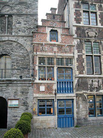 Narrow Dutch house