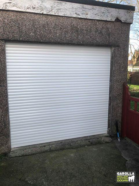 Electric Roller Garage Door In 2020 Garage Doors Garage Door Design Garage Door Decor