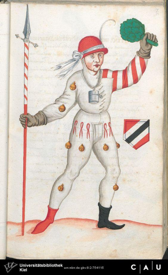 Nürnberger Schembart-Buch Erscheinungsjahr: 16XX  Cod. ms. KB 395  Folio 48