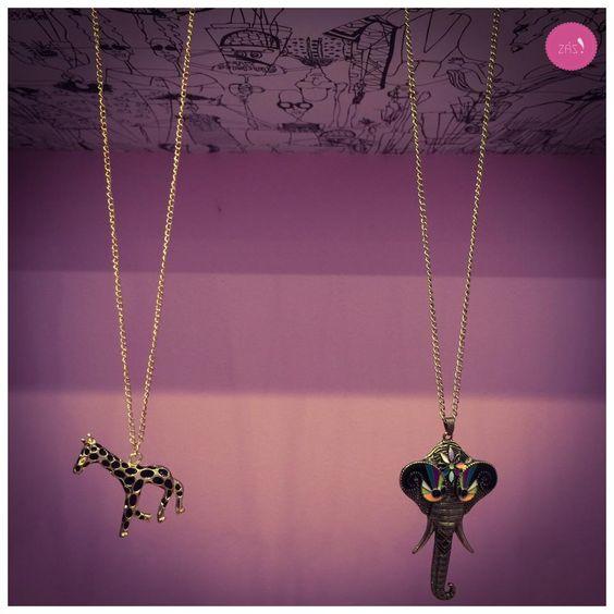 Esses colares são uma lindeza sem fim! #Vemprazas