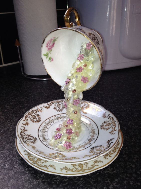 My Floating Tea Cup Teapots Salt Amp Pepper Shakers And