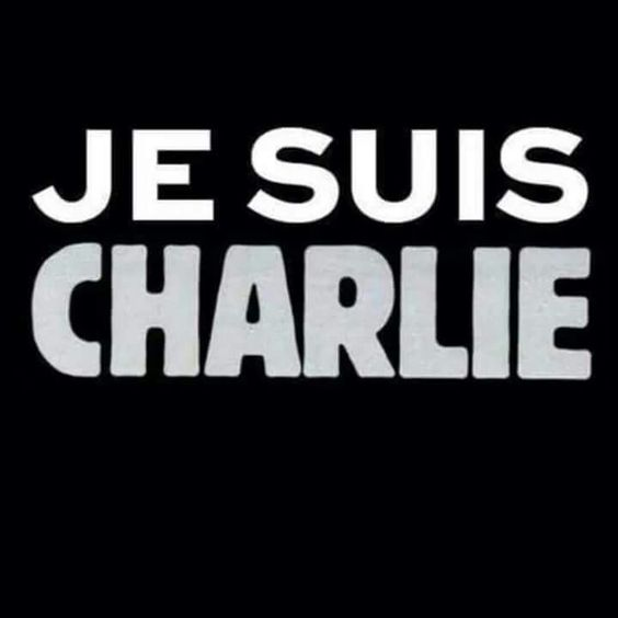 Hommage aux dessinateurs de Charlie Hebdomadaire  et les anonymes tués ce 7 janvier 2015