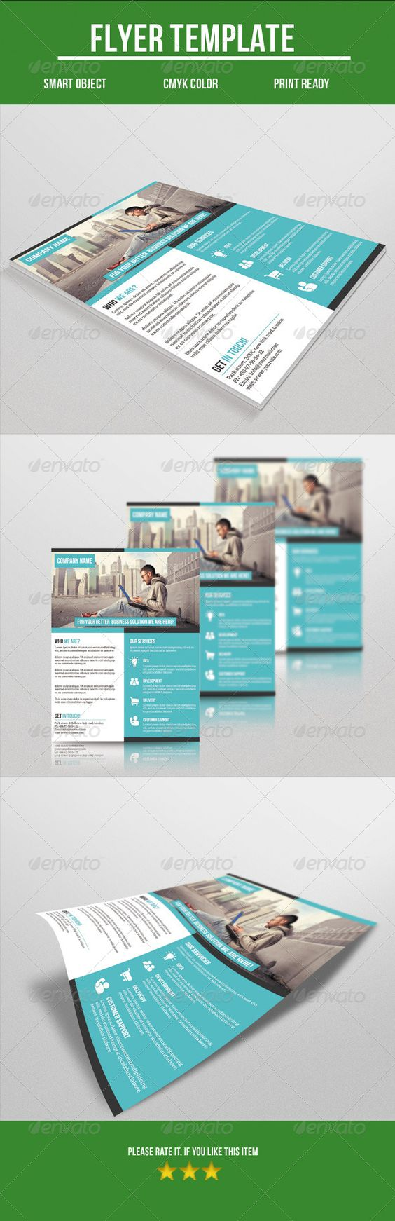 corporate flyer flyers templates and psd templates corporate flyer psd template buy and graphicriver net