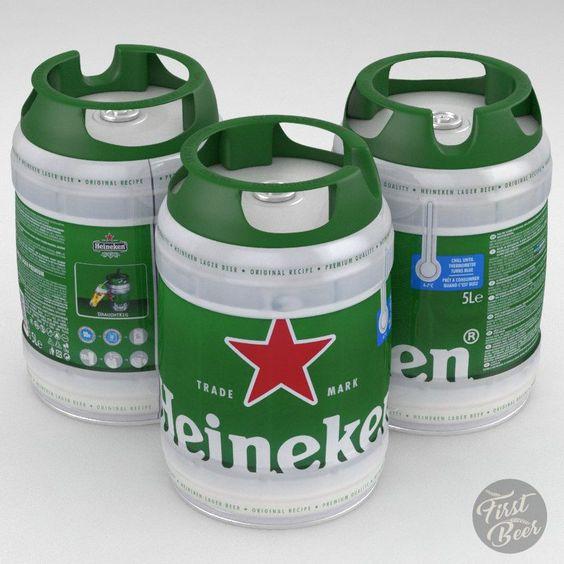 bia heineken 5 lít