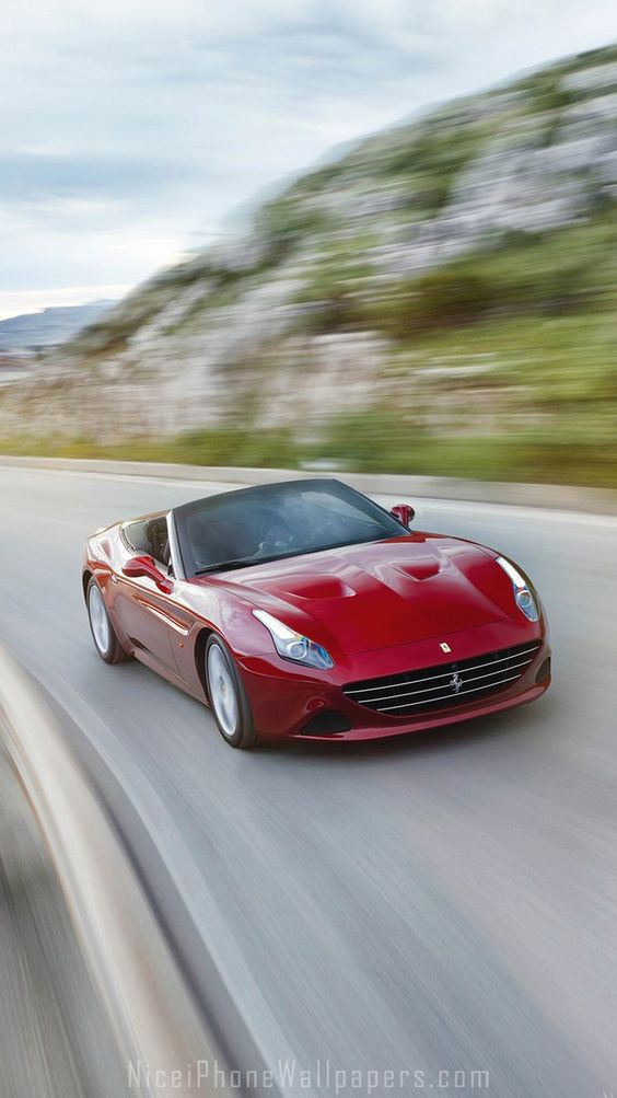 iphone wallpapers iphone and ferrari california on pinterest