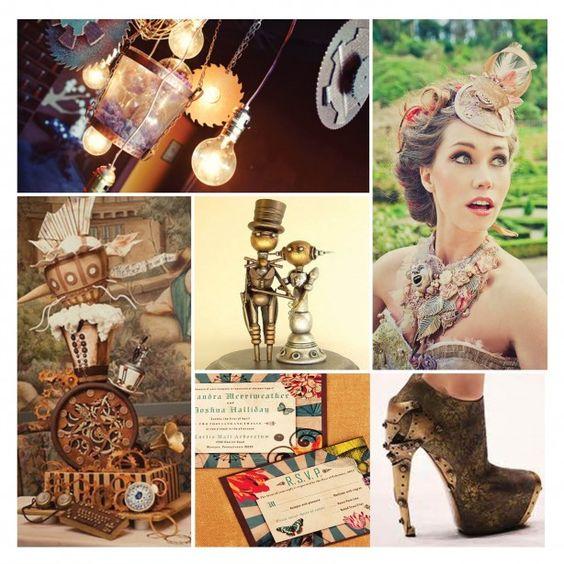 Steampunk fashion- Weddings