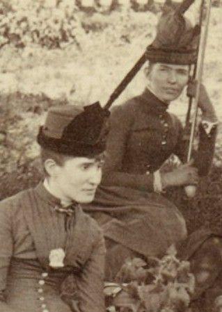 Mary and Edith Audabon