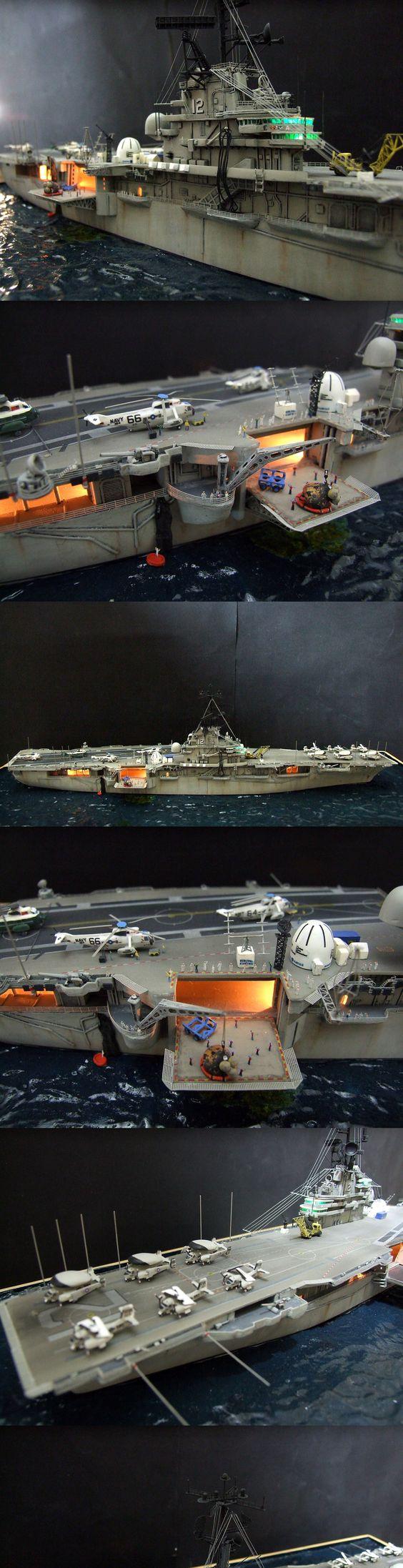 USS Hornet CVS12+3...Apollo 11 Recovery mission 1969...Kit ...