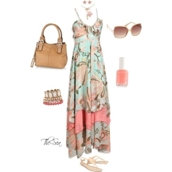 Beach Hobo Maxy Dress, created by the-sea on Polyvore