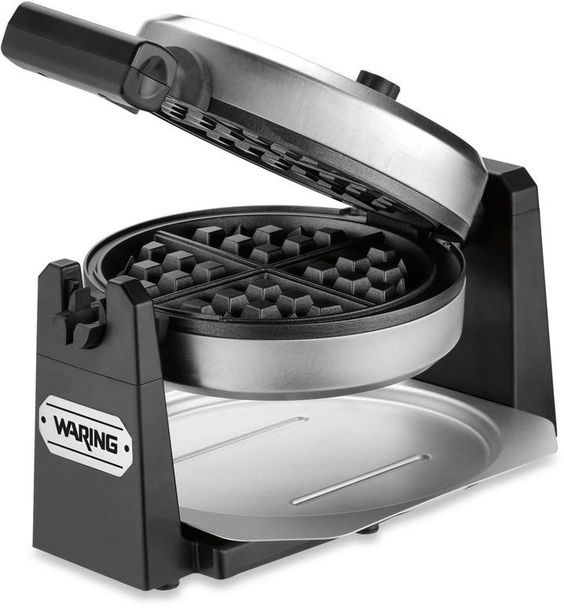 Pin for Later: 40+ Wedding Gift Ideas That Will Wow the Newlyweds Belgian Waffle Maker Waring Rotating Style Belgian Waffle Maker ($80)