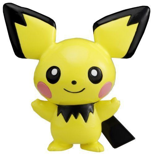 TAKARA TOMY POKEMON MONSTER FIGURE MC01 MC-01 PICHU FIGURE: