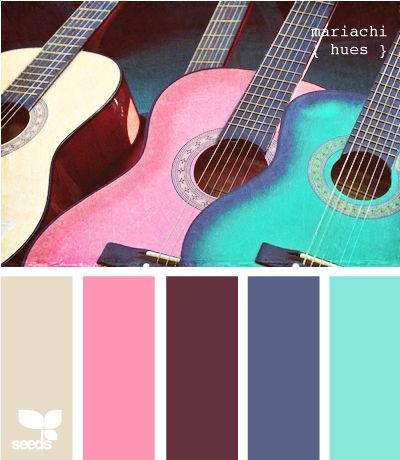 stringed colors