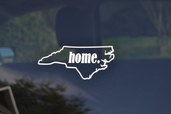 North carolina home of yall stickers pinterest north carolina