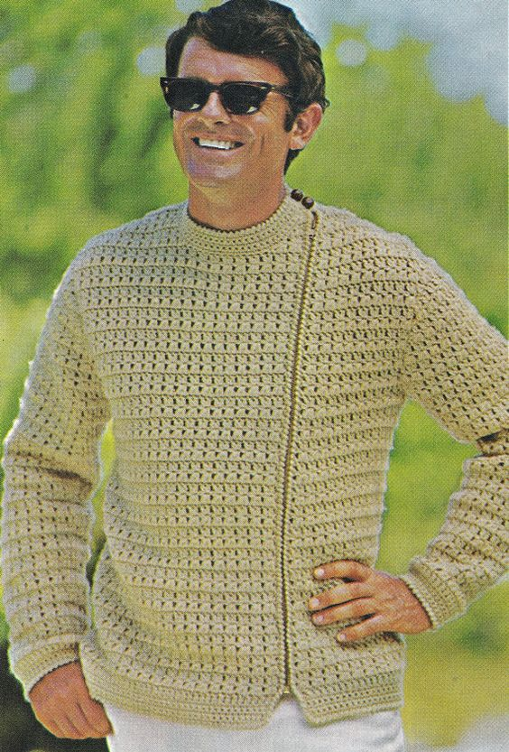 Free Crochet Pattern Mens Underwear : Crochet, Vintage and Cardigans on Pinterest