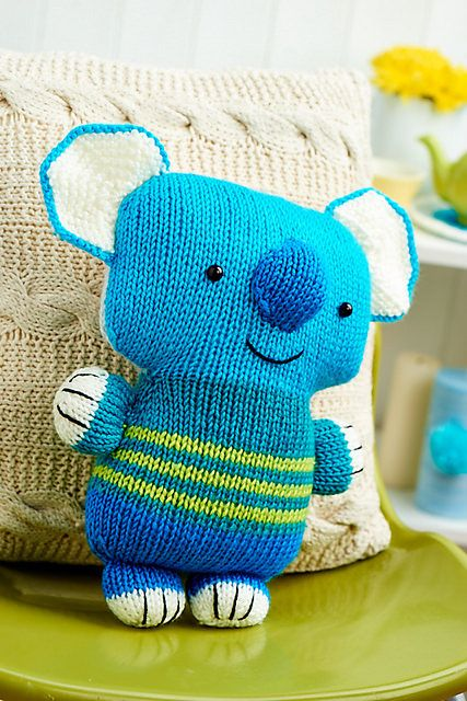 Koala knitting pattern by Amanda Berry Knitamigurumi Pinterest Koalas, ...