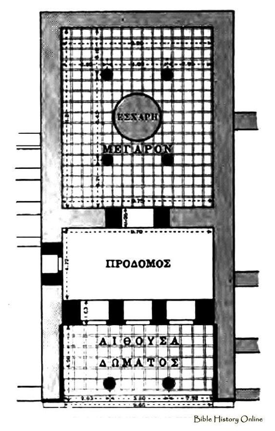 Megaron Floor, Floor Plans, Palace, House Plans I 그리스의 주거 - master settlement agreement