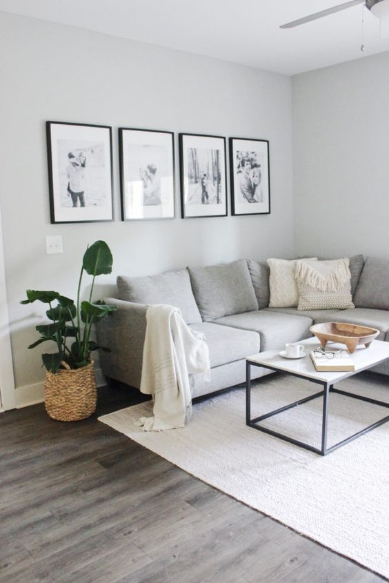 interior design tips for small spaces   Home and Lifestyle Blogger. Caitlin De Lay shares her tips and tricks for creating a functional interior design in her small apartment home.  Home, home decor, home ideas, living room ideas, gallery wall, minimalist, decor inspirations, decorations, beach home, modern home, mid-century modern, plants, gardening, house plants, neutral home decor, interior design, home design